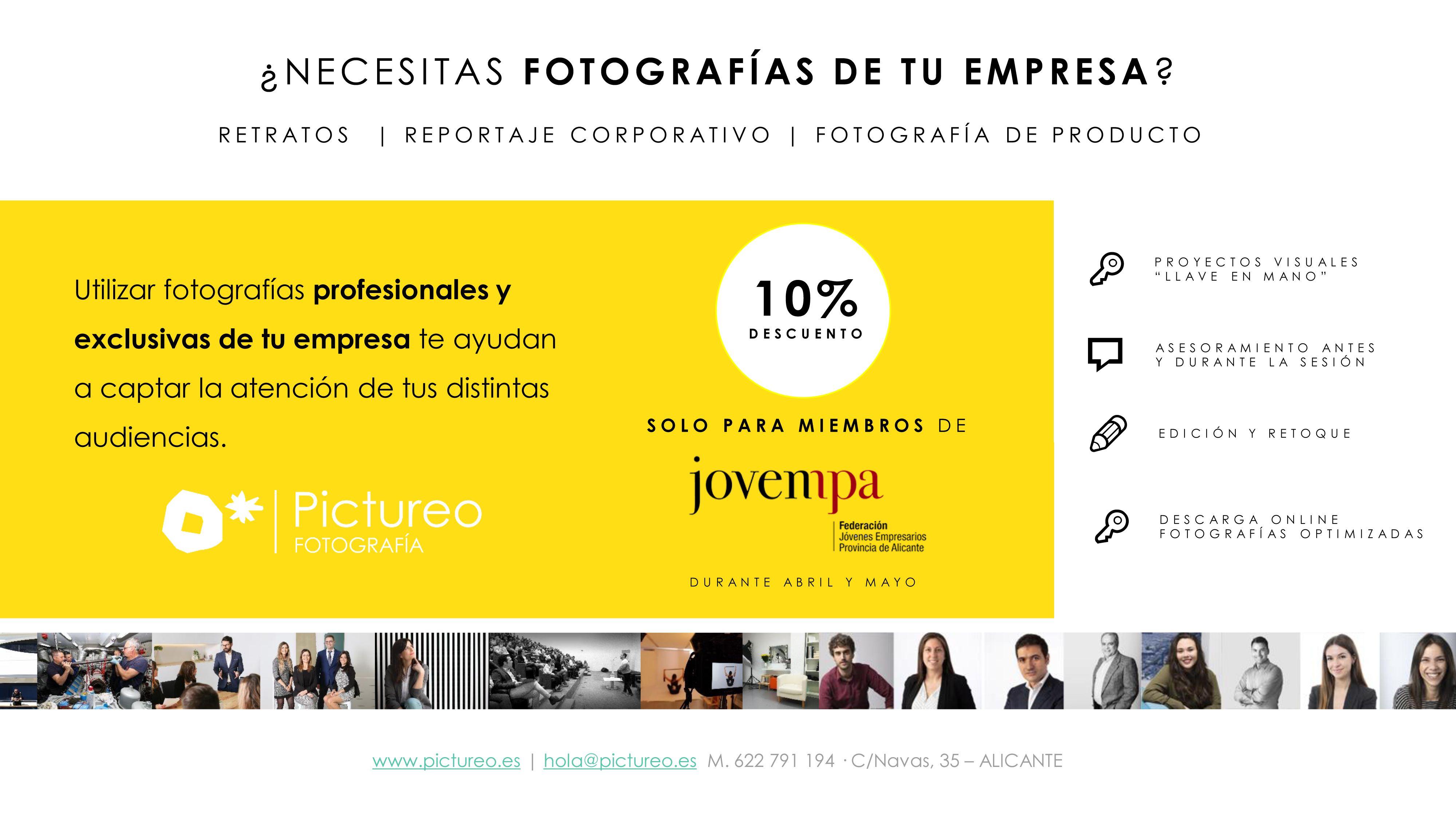 pictureo fotografia profesionales y empresas alicante